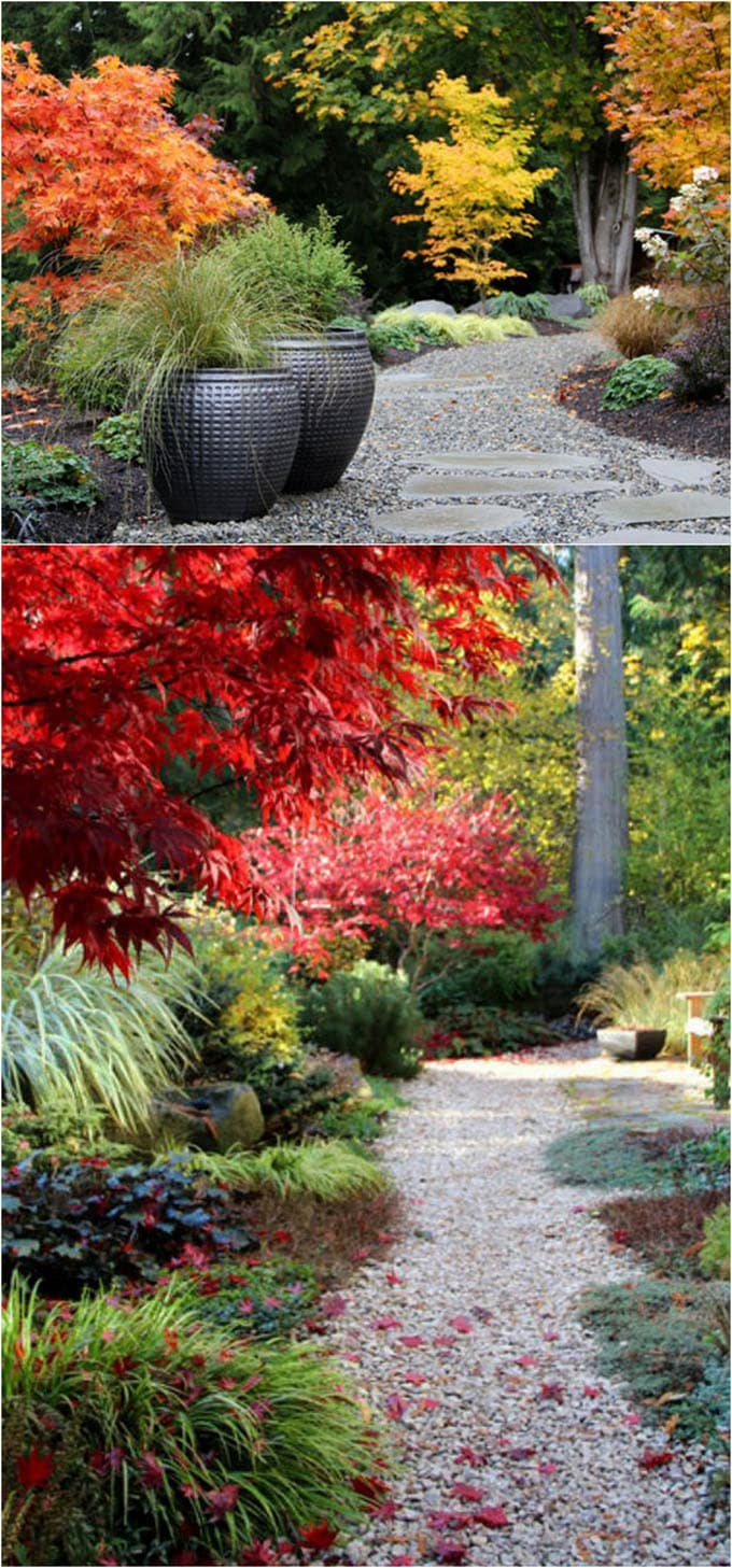 25 most beautiful diy garden path ideas a piece of rainbow for Cement garden paths