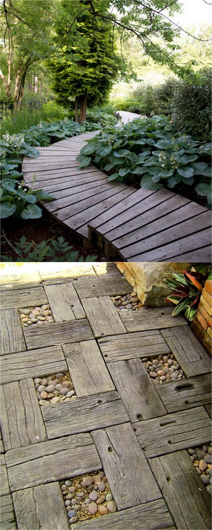 25 Most Beautiful DIY Garden Path Ideas - A Piece Of Rainbow on Patio And Gravel Garden Ideas id=72696
