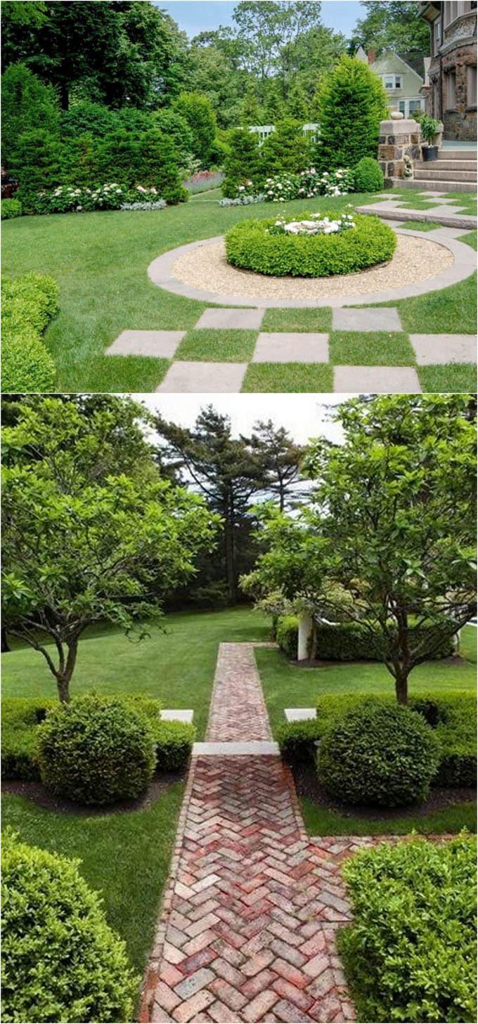 25 Most Beautiful DIY Garden Path Ideas - Page 2 of 2 - A ... on Backyard Pathway Ideas id=90753