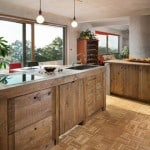 A stunning kitchen remodel created with pallets! Take a tour and check out detailed tips and ideas on how to work with pallets in a kitchen remodel! - A Piece of Rainbow