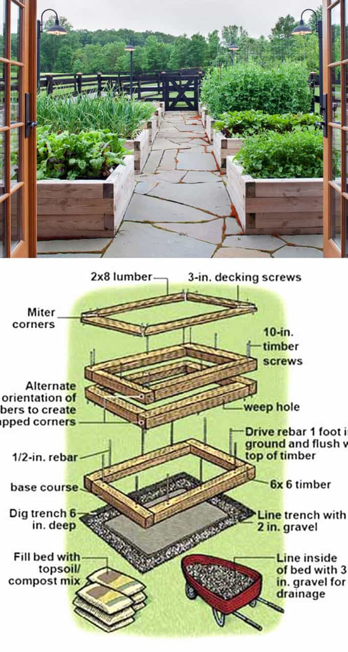 Delicieux Waist Height Raised Bed