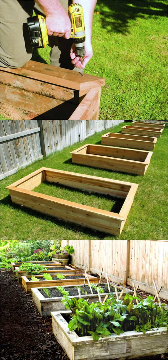 Marvelous 28 Amazing Diy Raised Bed Gardens A Piece Of Rainbow Gamerscity Chair Design For Home Gamerscityorg