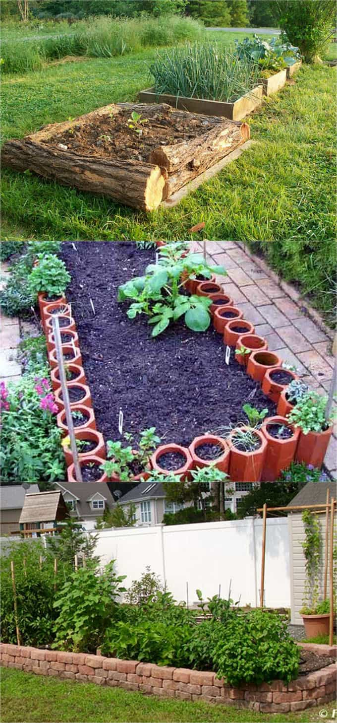 Use inexpensive or free materials to build your raised bed gardens