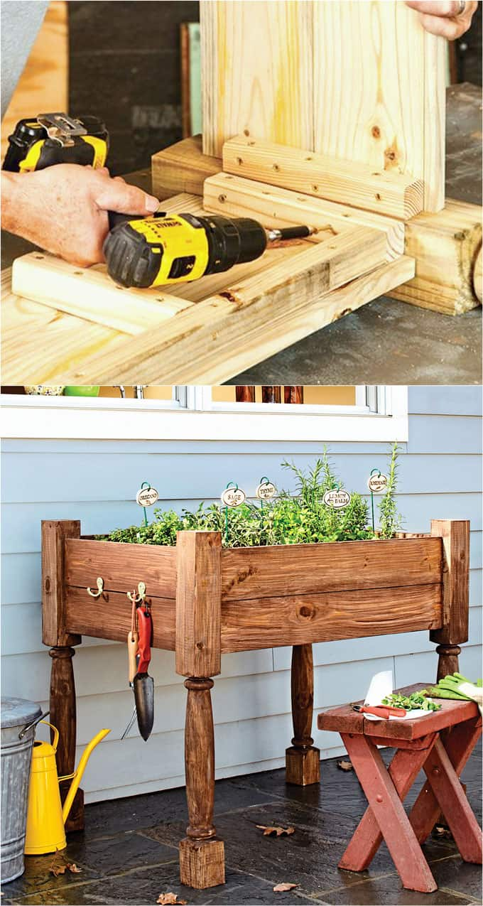 rot resistant wood for raised beds