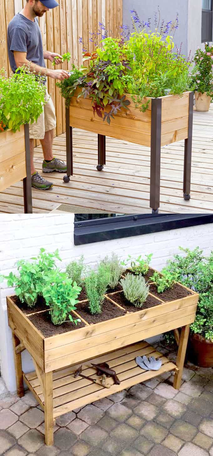 All About DIY Raised Bed Gardens - Part 1 - A Piece Of Rainbow