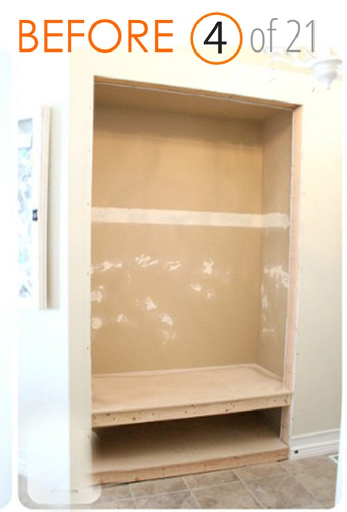 Entryway Closet Demolition