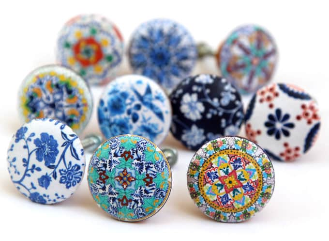 5 Minute Anthropologie Knobs Knockoff ( Beautiful Drawer Knobs DIY ...
