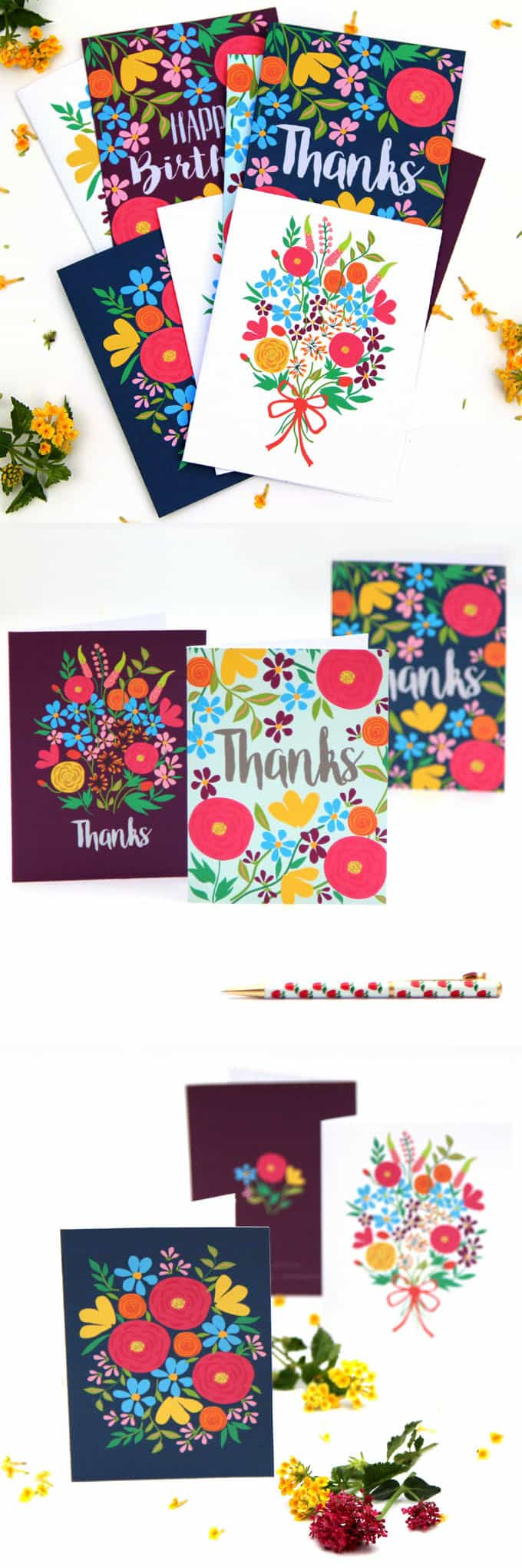 Free printable flower greeting cards a piece of rainbow free printable greeting cards apieceofrainbow 3 kristyandbryce Images