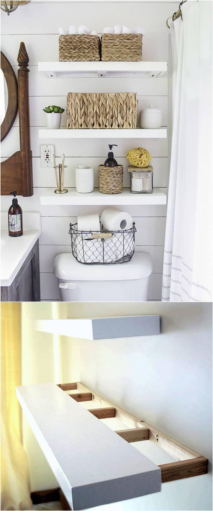 16 Easy And Stylish Diy Floating Shelves Wall Shelves