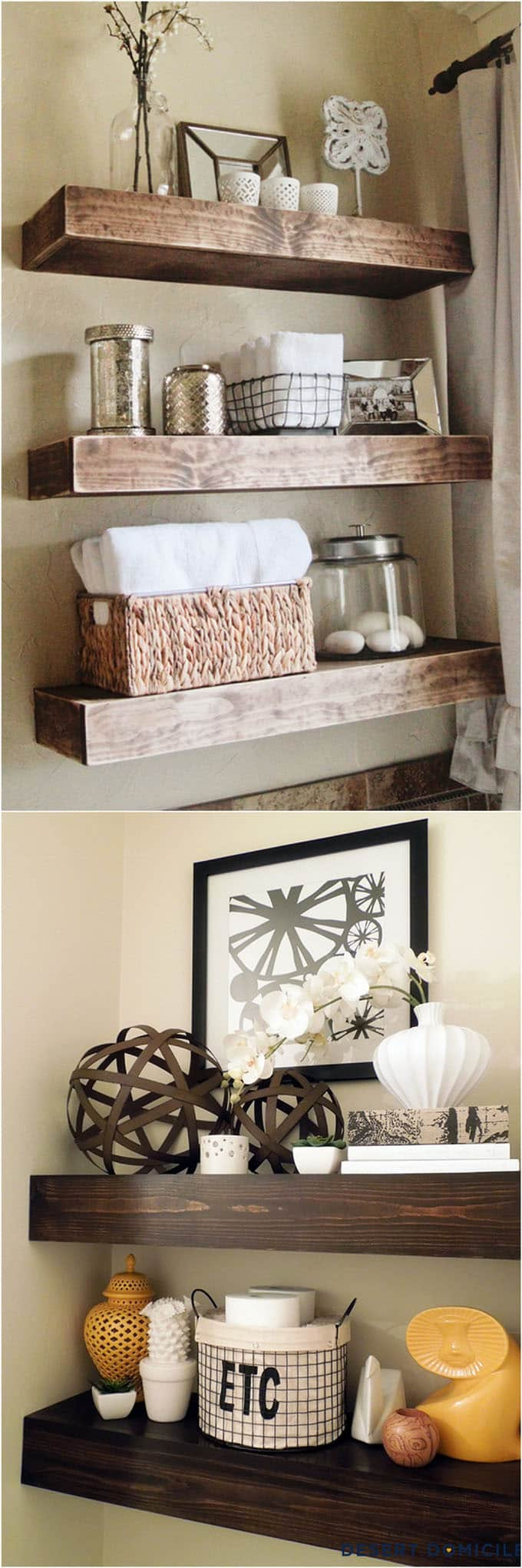 16 Easy Tutorials On Building Beautiful Floating Shelves And Wall Shelves  For Your Home! Check