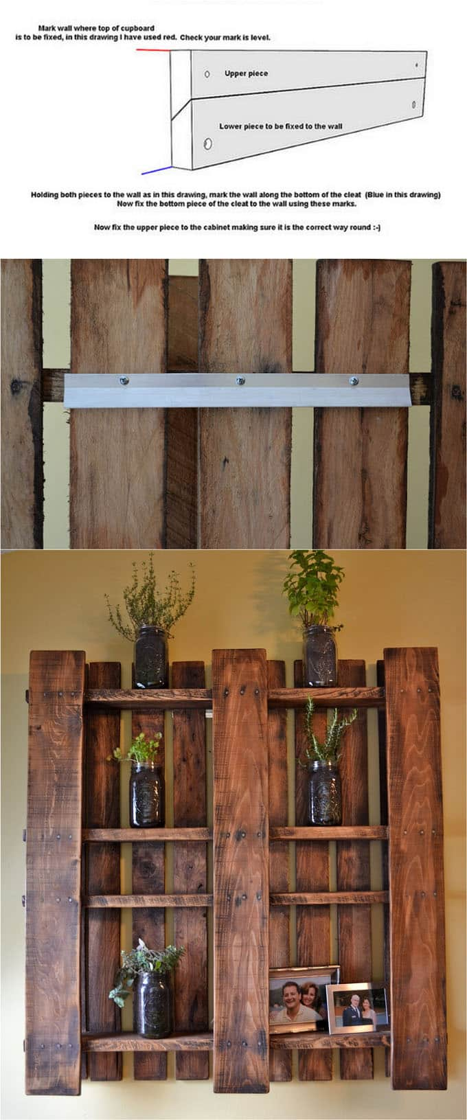 16 easy and stylish diy floating shelves wall shelves a piece 16 easy tutorials on building beautiful floating shelves and wall shelves for your home check amipublicfo Images