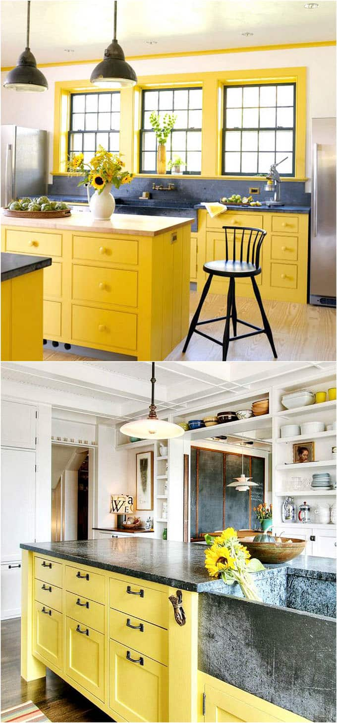 Super 25 Gorgeous Kitchen Cabinet Colors Paint Color Combos A Beutiful Home Inspiration Cosmmahrainfo