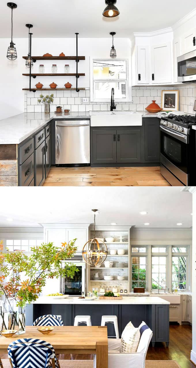 25 Gorgeous Kitchen Cabinet Colors & Paint Color Combos ...
