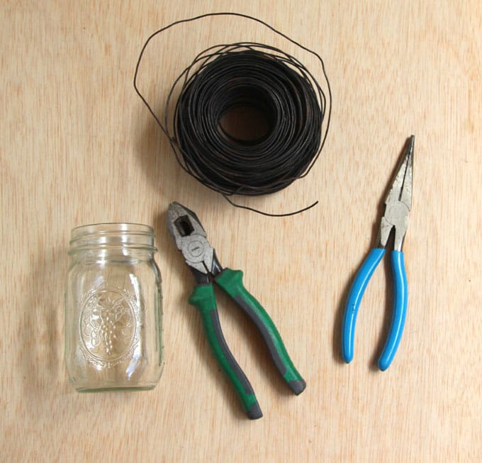 how to make hanging mason jar candles