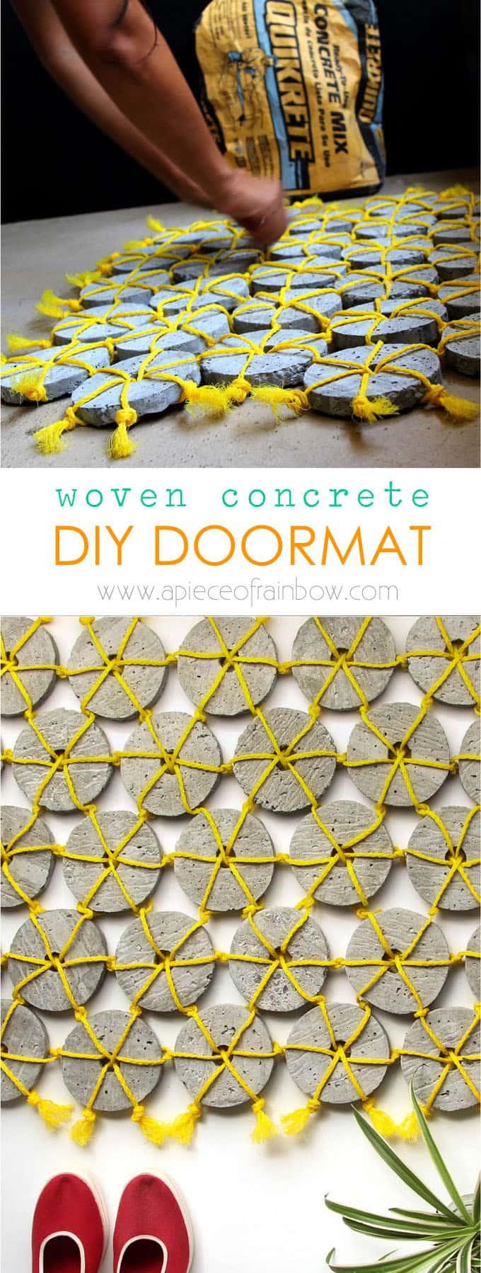 DIY-woven-concrete-doormat-apieceofrainbow (5)
