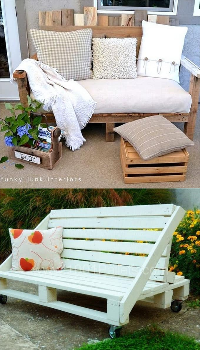 12 Easy Pallet Sofas and Coffee Tables to DIY in One ...
