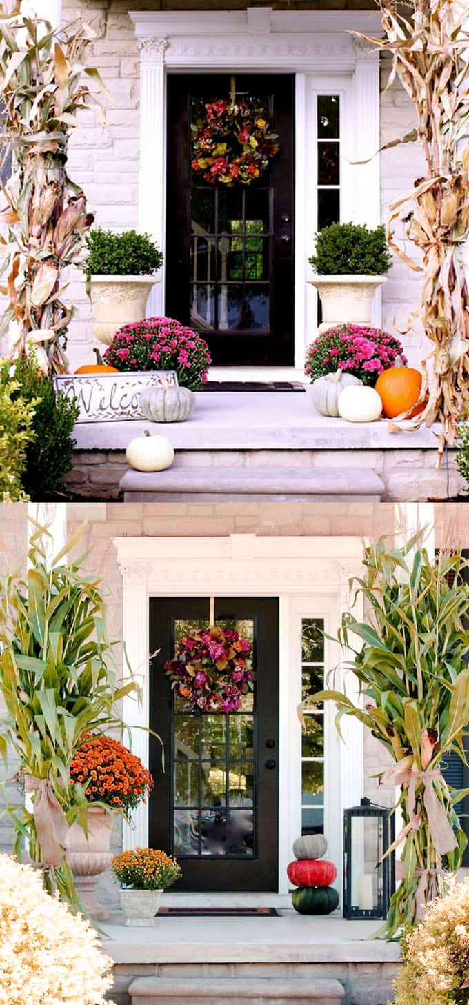 25-front-door-fall-decorations-apieceofrainbow (6)