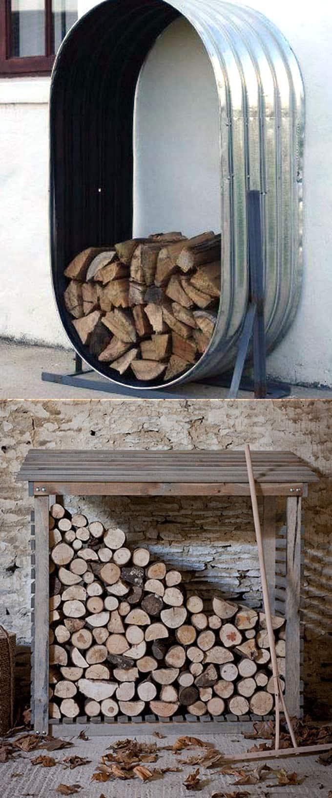 15 Creative Firewood Rack and Storage Ideas - Page 2 of 2 - A Piece Of ...