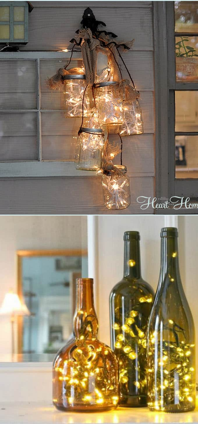 18 Magical Ways To Use String Lights A Piece Of Rainbow
