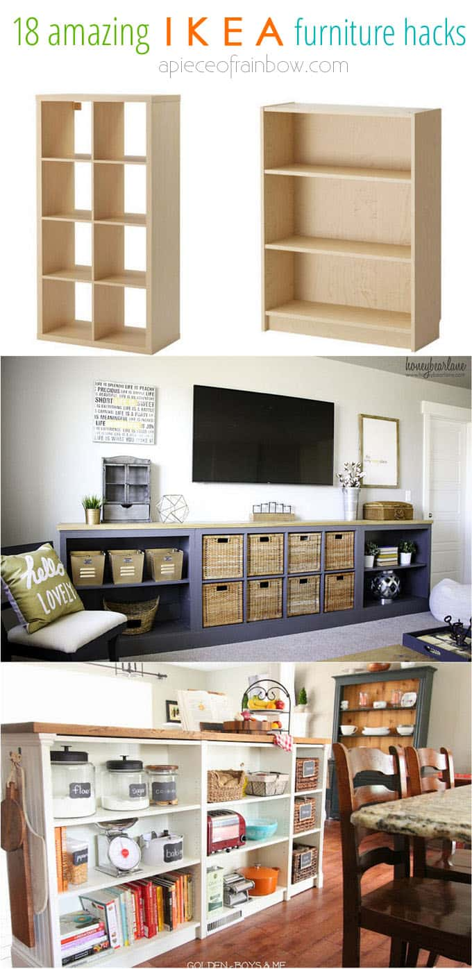 Easy Custom Furniture With 18 Amazing Ikea Hacks Page 3 Of 3 A Piece Of Rainbow