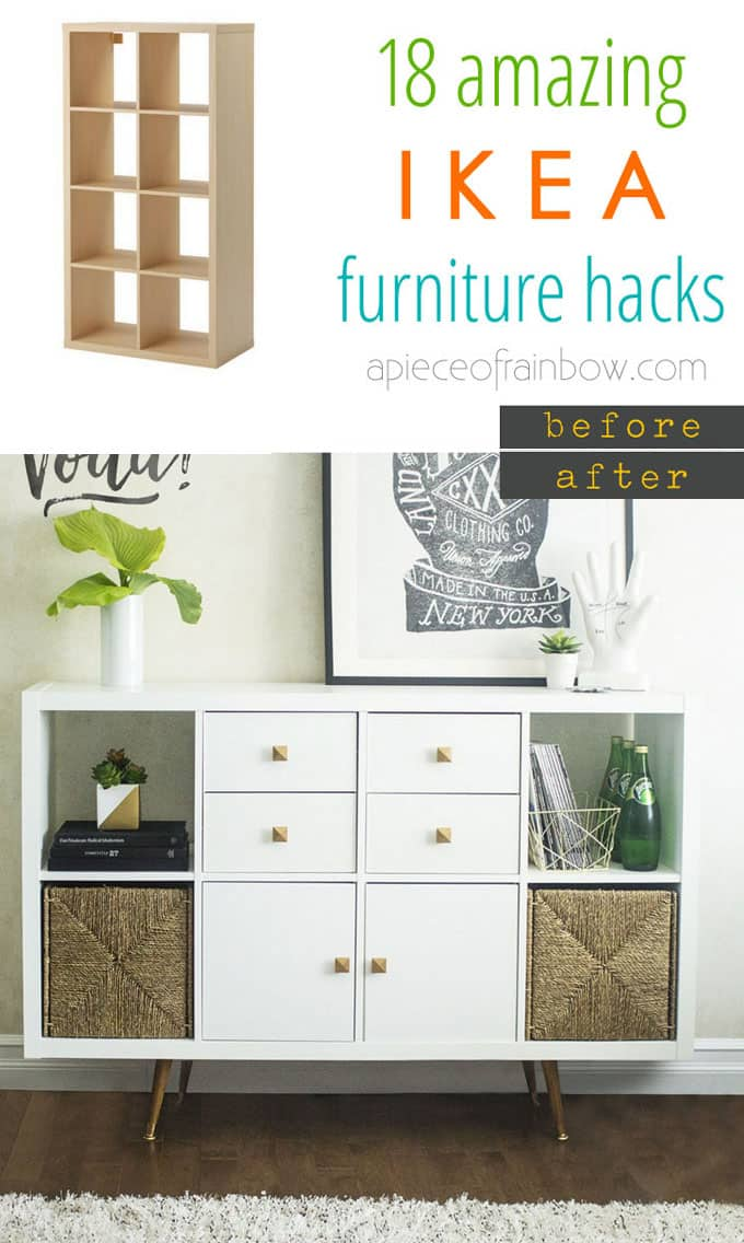 Easy custom furniture with 18 amazing ikea hacks page 3 - Garderobenbank ikea ...