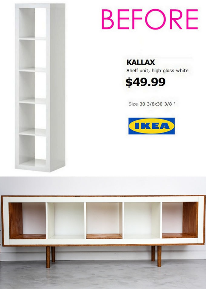 Ikea hack using Kallax unit
