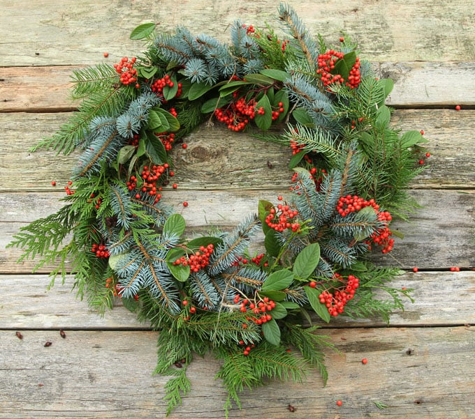 diy-fresh-christmas-wreath-apieceofrainbow-10