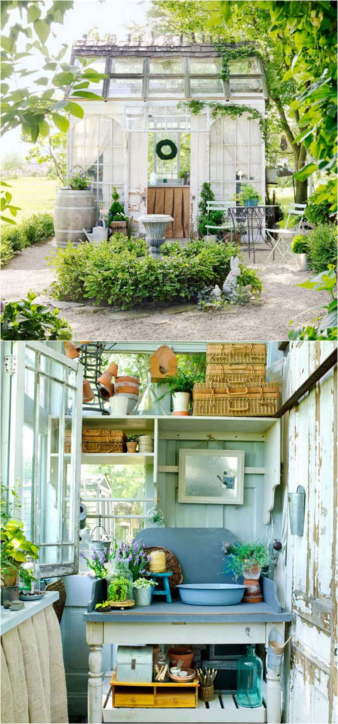 Top 12 Most Beautiful DIY Shed Ideas with Reclaimed Windows - A Piece  GR21