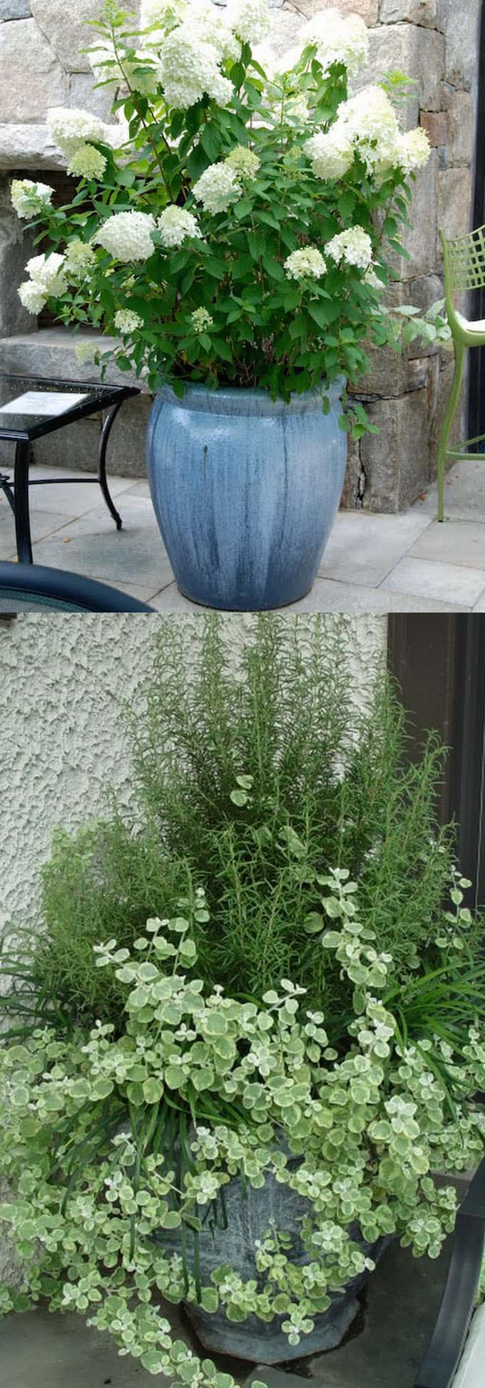 farmhouse style container garden designs