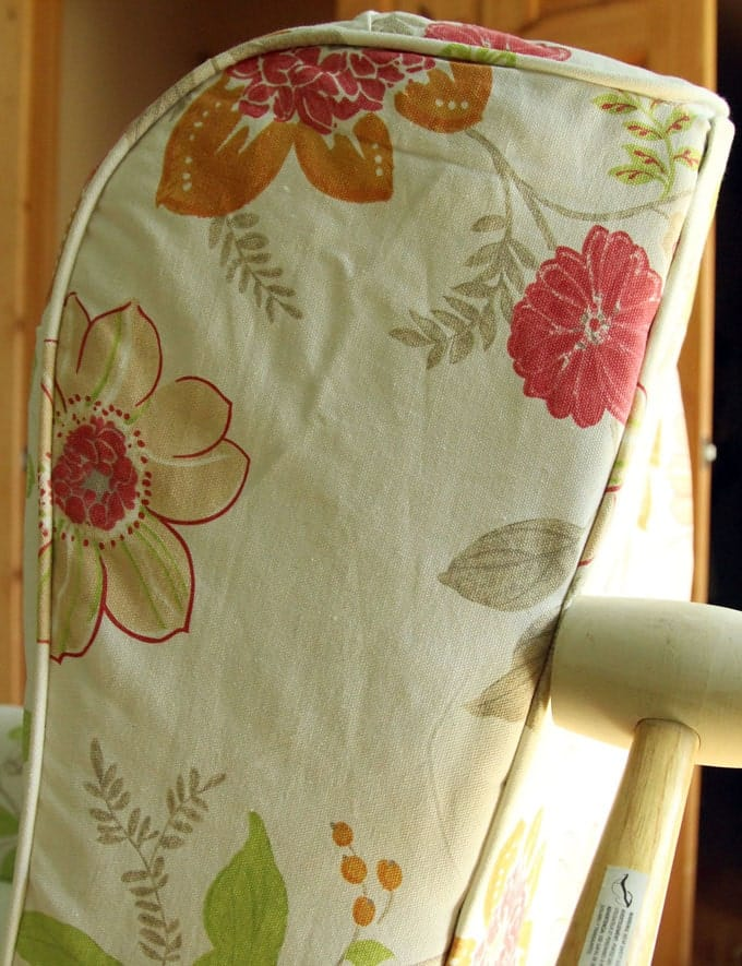How to use tack strip for upholstery. Dramatic before after transformation and detailed tutorial on how to makeover an upholstered recliner chair, and lots of helpful tips for beginners. A Piece Of Rainbow