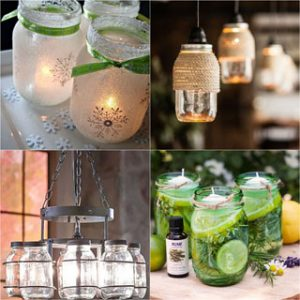 DIY mason jar lights: 25 best tutorials on making beautiful pendants & lanterns and choosing quality kits, supplies to make them safe and long lasting! A Piece Of Rainbow