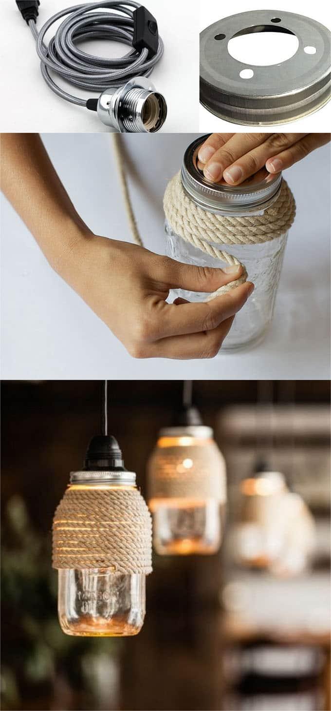 Diy Mason Jar Lights 25 Best Tutorials Kits Supplies A Piece Of Rainbow