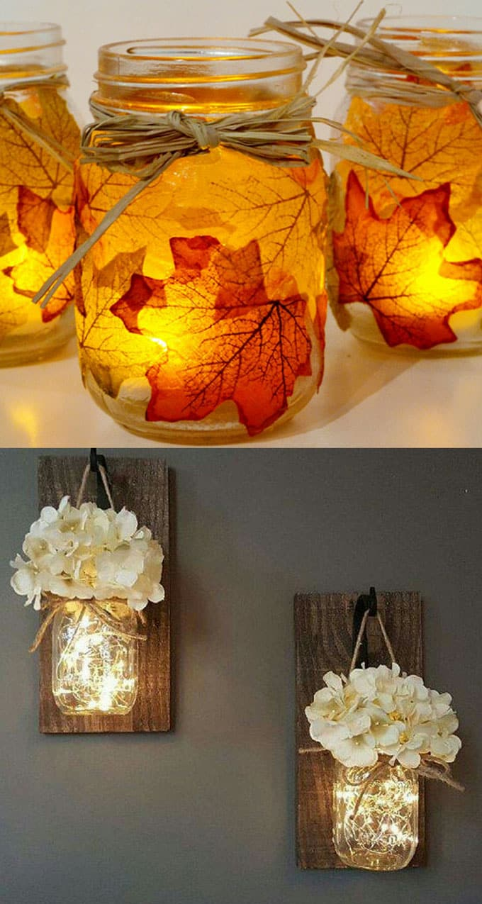 Magical Diy Hanging Mason Jar Lights Easiest Ever A Piece Of Rainbow