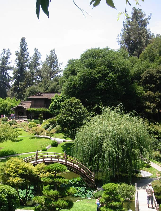 In The Japanese Garden, Components Of The Authentic Ceremonial Teahouse  Were Created In Japan And Shipped To Pasadena. It Is Considered One Of The  Best ...