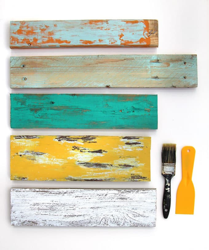 Here is our list of 7 easy painting techniques to distress wood and  furniture. Distress Wood   Furniture  Ultimate Guide to 7 Easy Painting