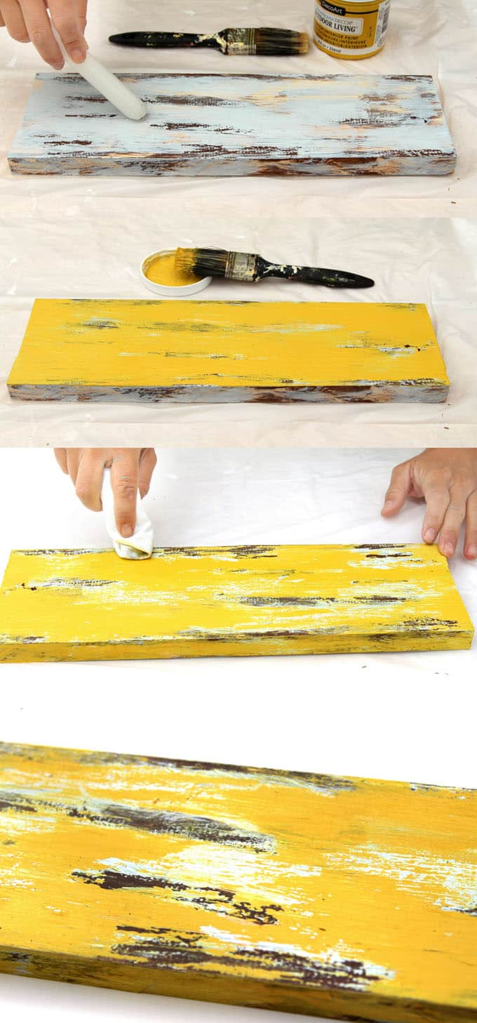 Well known Distress Wood & Furniture: Ultimate Guide to 7 Easy Painting  SB97