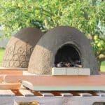 DIY wood fired earth cob oven