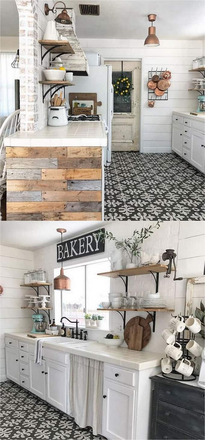 These Beautiful Farmhouse Kitchens Are Some Of My Favorite On Instagram Check Them Out Here And To See More Homes Gardens