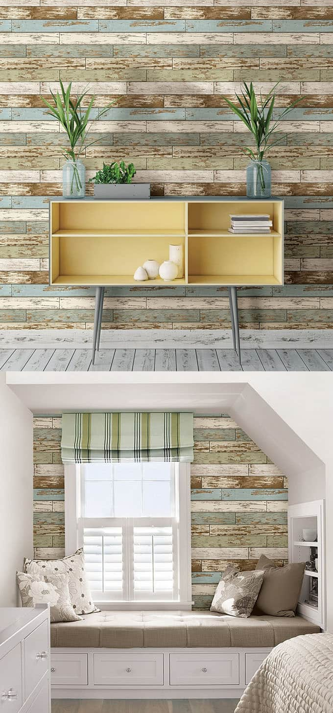 Shiplap Wall And Pallet Wall 30 Beautiful Diy Wood Wall Ideas Page 3 Of 3 A Piece Of Rainbow