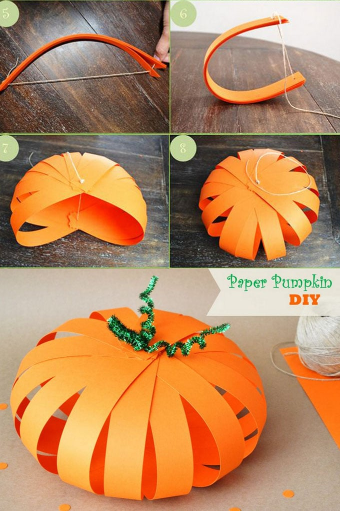 20+ Easy & Grogeous DIY Pumpkin Decorations {Mostly Free!}