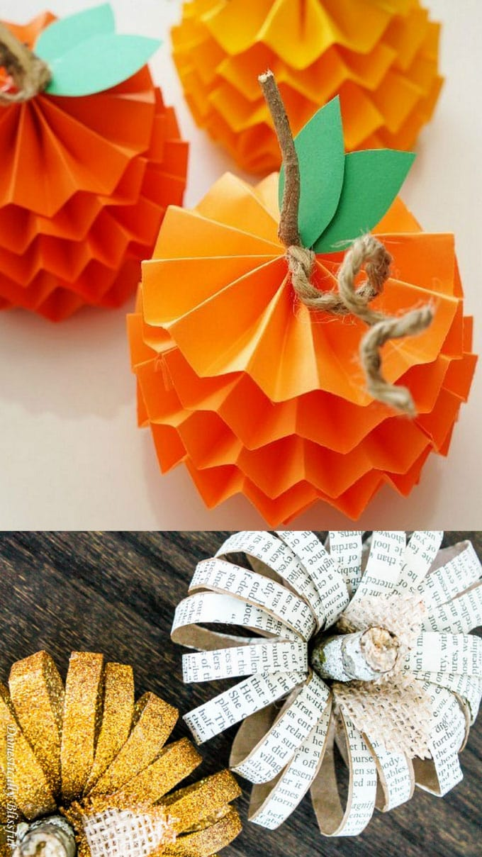 20 Easy Grogeous Diy Pumpkin Decorations