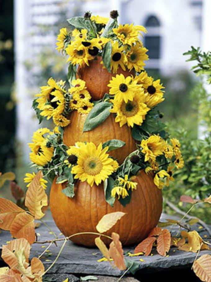 25 Splendid Diy Fall Outdoor Decorations A Piece Of Rainbow