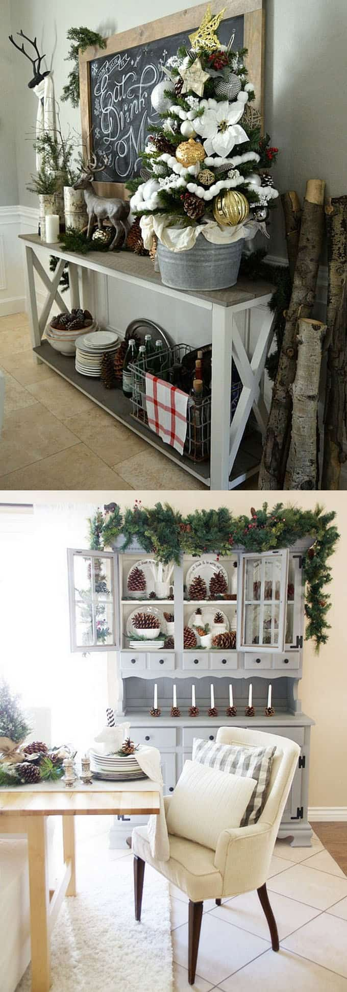 100 favorite christmas decorating ideas every room apieceofrainbow 6 - 100+ Favorite Christmas Decorating Ideas For Every Room in Your Home : Part 2