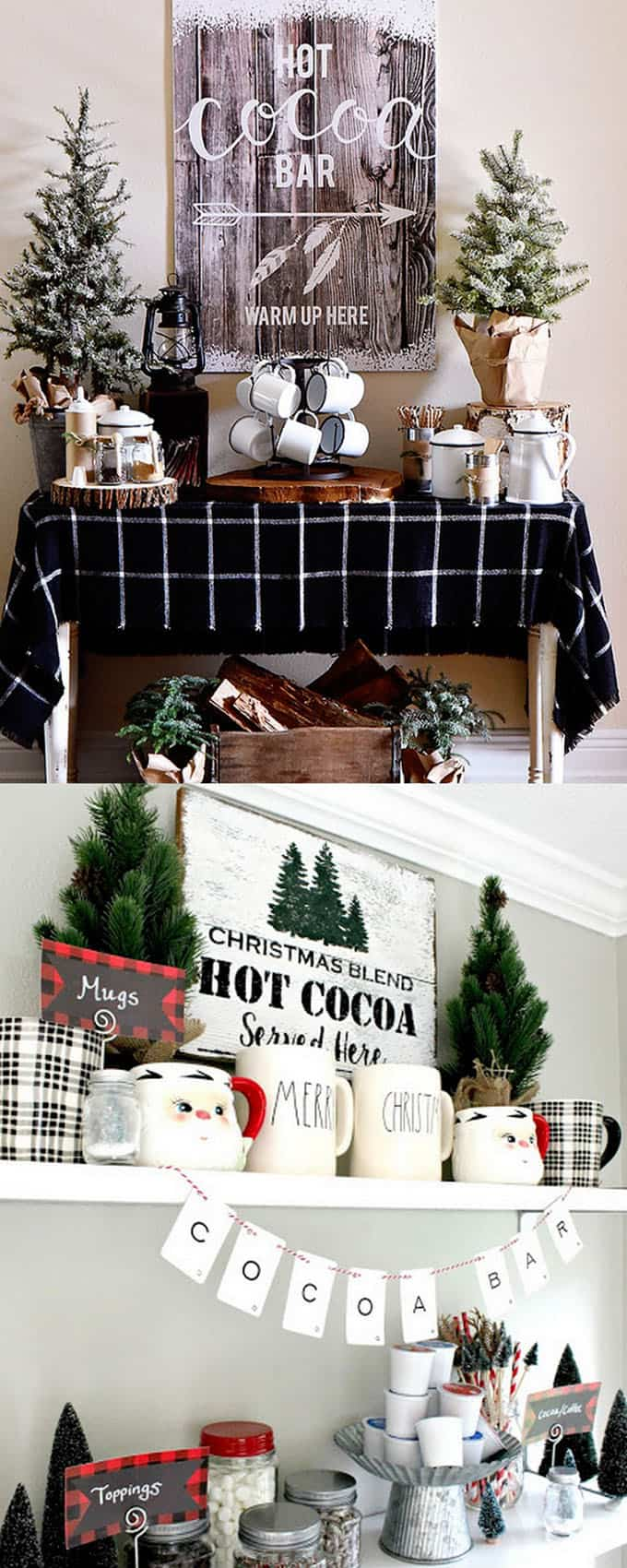 100 favorite christmas decorating ideas every room apieceofrainbow 7 - 100+ Favorite Christmas Decorating Ideas For Every Room in Your Home : Part 2