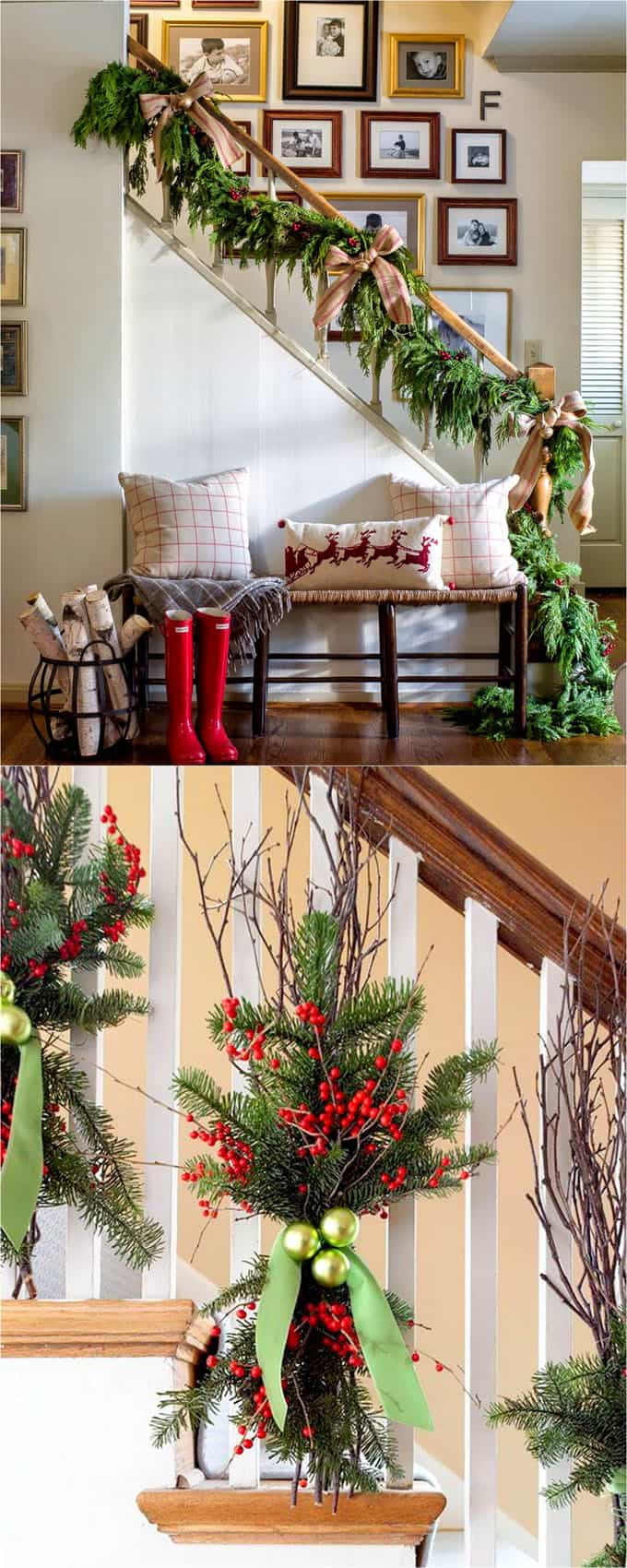 100 Favorite Christmas Decorating Ideas For Every Room In Your Home Part 1 A Piece Of Rainbow