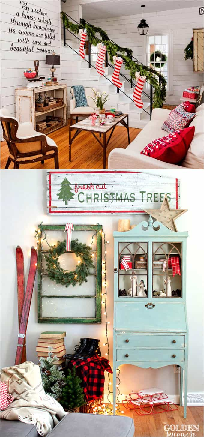Favorite Christmas Decorating Ideas For Every Room In Your - Christmas decorations ideas for living room