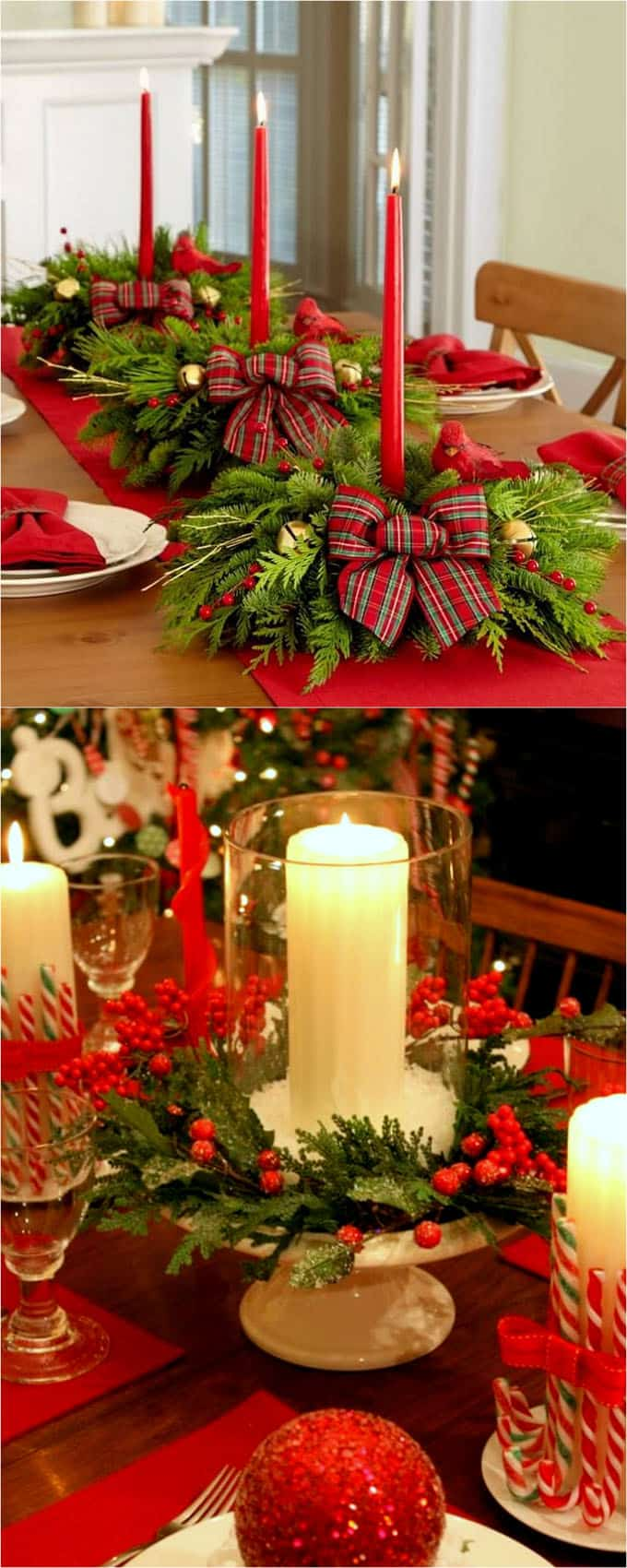 Small Homemade Centerpieces : Gorgeous diy thanksgiving christmas table decorations