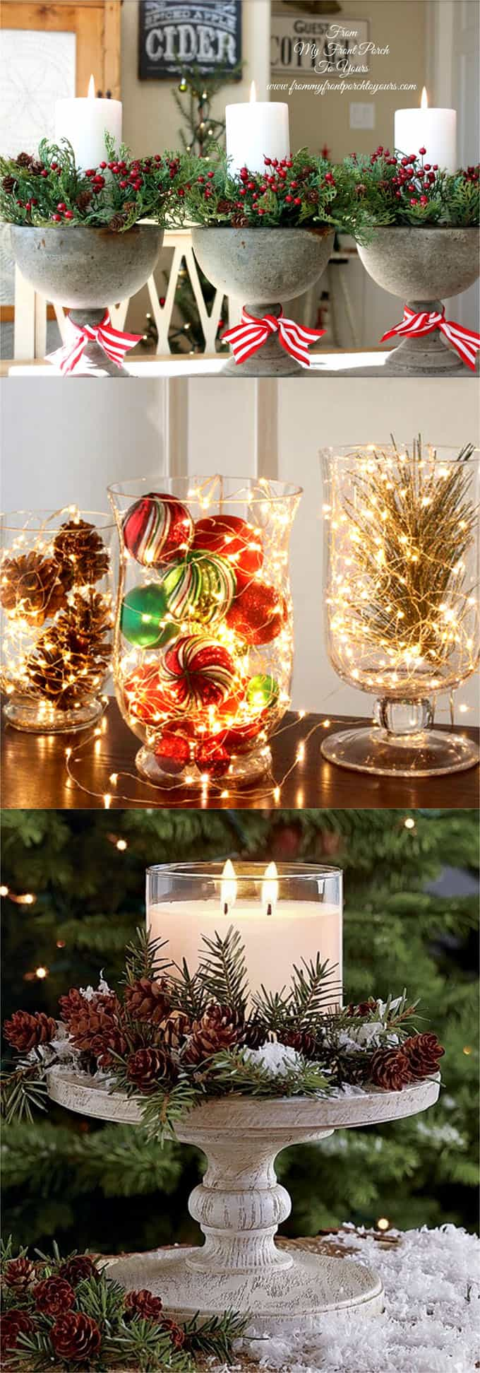 27 gorgeous diy thanksgiving christmas table decorations Small christmas centerpieces
