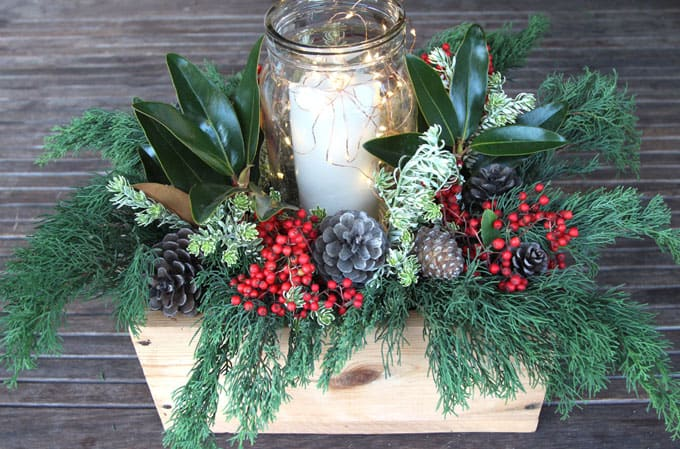 how to make christmas table centerpieces youtube
