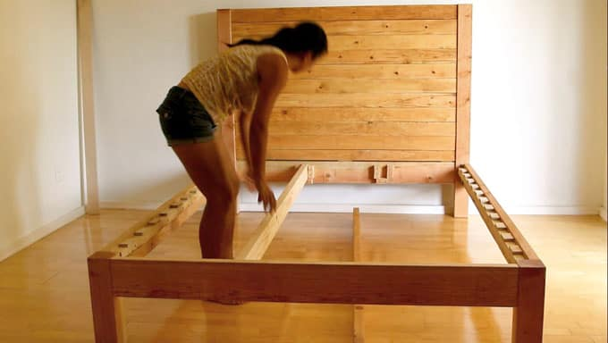 DIY Bed Frame and Wood Headboard - Page 2 of 2 - A Piece ...